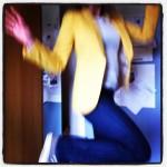 Ikea-gul blazer